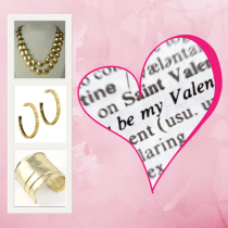 Valentine's Day at Antique Stop features Karine Sultan jewelry